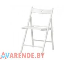 Белый складной стул напрокат в Витебске