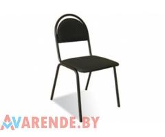 Прокат черного мягкого стула в Витебске