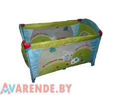 Прокат детских манеж-кроватей