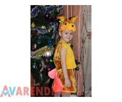 Прокат детского карнавального костюма Белочки в Витебске