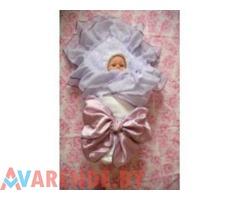 Конверты для выписки новорожденных напрокат в Могилеве