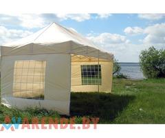 Шатер 3 х 6 м (со стенами или без) напрокат в Минске