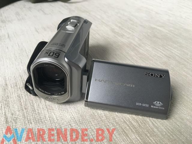 Прокат видео камеры Sony DCR-SX 50 в Минске - 1/1