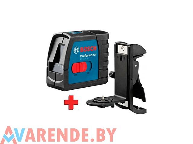Прокат лазерного нивелира Bosch GLL 2-15 Professinal в Барановичах - 1/1