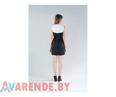 Черно-белое платье мини BCBG Maxazria напрокат в Минске