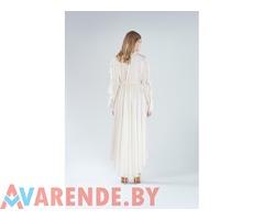Платье молочное с воланом миди CMP-GIRL