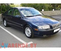 Прокат Volvo S80 2004 в Барановичх