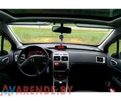 Прокат Peugeot 307 в Бобруйске