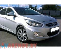 Прокат Hyundai Solaris в бобруйске