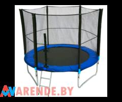 Батут 244 см с сеткой для детей и взрослых Anuka напрокат в Бобруйске