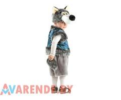 Новогодний костюм Волк серый рост 104-116 напрокат в Бобруйске