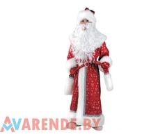 Новогодний костюм Дед Мороз детский рост 122-134 напрокат в Бобруйске