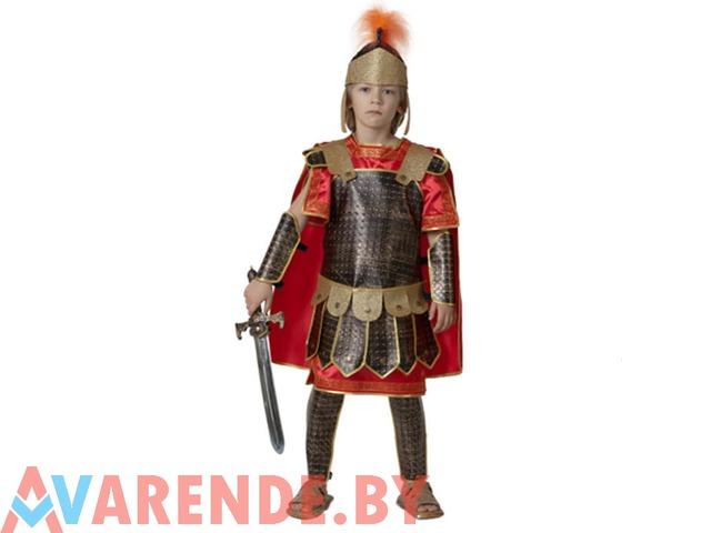 Карнавальный костюм Римский воин рост 122-128 напрокат в Бобруйске - 1/1