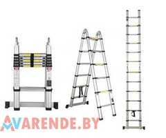 Двухсекционная лестница 218/440 см напрокат в Минске