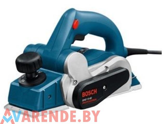 Электрорубанок Bosch GHO 15-82 Professional напрокат в Минске - 1/1