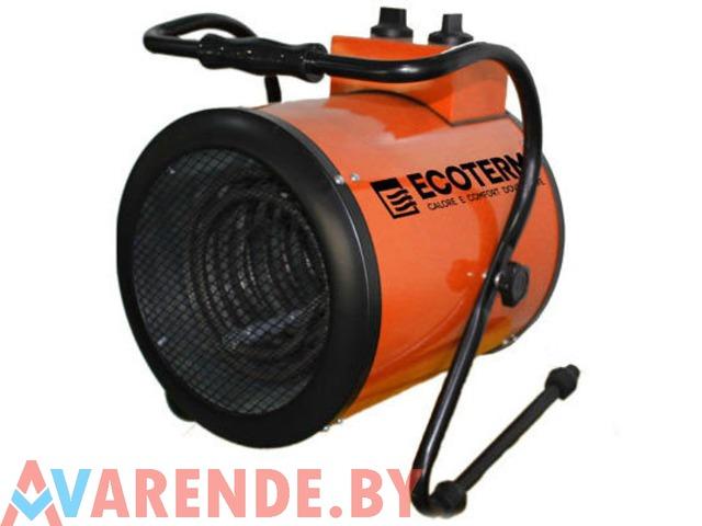 Прокат электрической тепловой пушки Ecoterm EHR-09/3B в Минске - 1/1