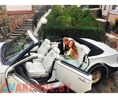 Прокат Кабриолета на свадьбу с водителем в Минске