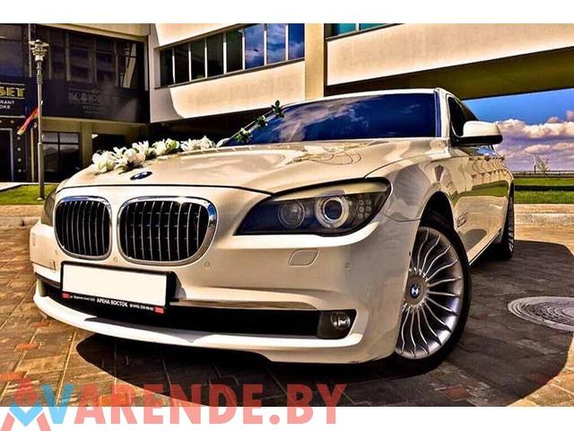 Арендовать BMW7 F02 на свадьбу с водителем в Минске - 2/2
