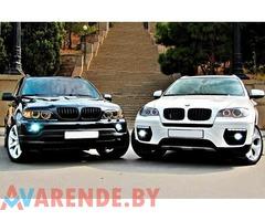 Арендовать BMWx6 на свадьбу с водителем в Минске