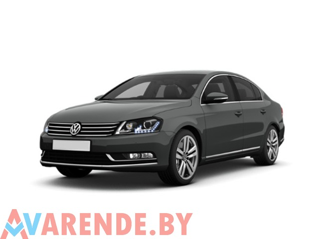 Прокат Volkswagen Passat B7 2012 в Минске - 1/2