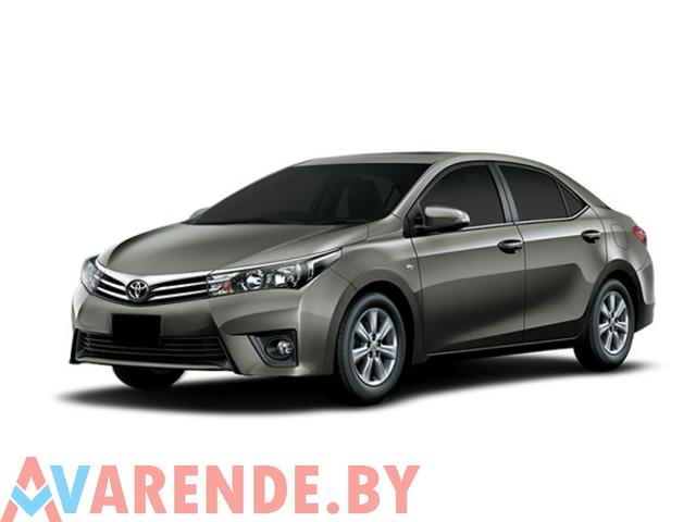 Аренда Toyota Corolla 2013 в Минске - 1/2
