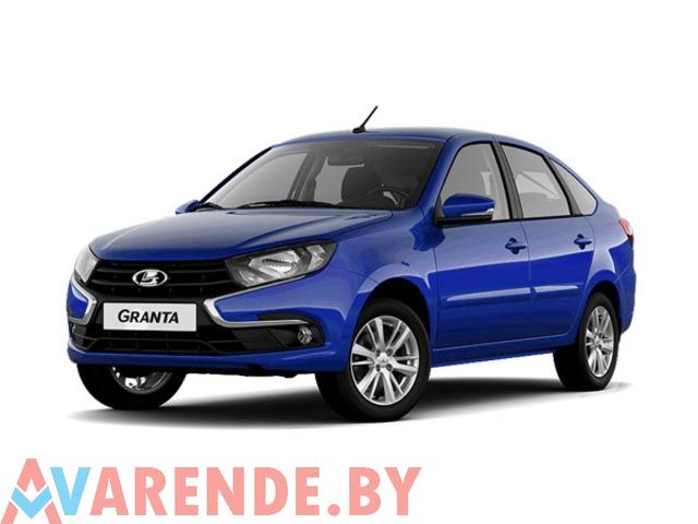 Прокат Lada Granta 2019 в Минске - 1/1