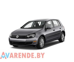 Аренда Volkswagen Golf 6 2012 в Минске
