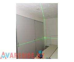 Лазерный уровень (НИВЕЛИР) зелёный луч напрокат в Пинске