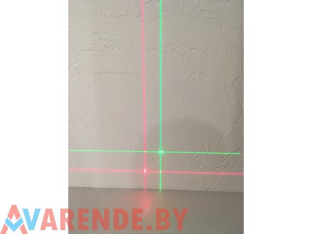 Лазерный уровень (НИВЕЛИР) зелёный луч напрокат в Пинске - 4/4