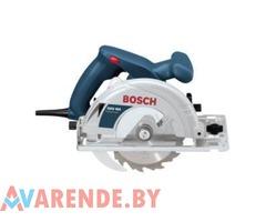 Ручная циркулярная пила Bosch GKS 160 напрокат в Минске