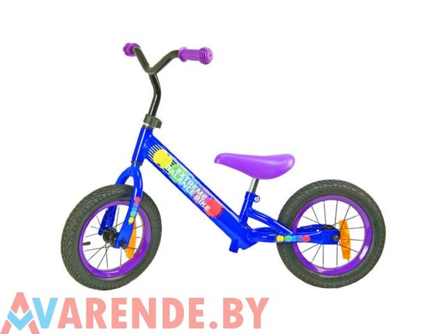 Беговел Extreme Balance bike 12 напрокат в Минске - 1/1
