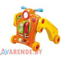 Прокат ходунков - каталки - толкалки PlayGo Baby Walker 2in1 в Минске