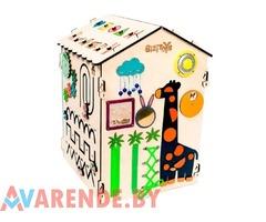 Аренда развивающей игрушки бизидом «Жираф» в Минске