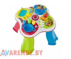 Прокат игрушки обучающей Chicco «Говорящий столик» в Минске