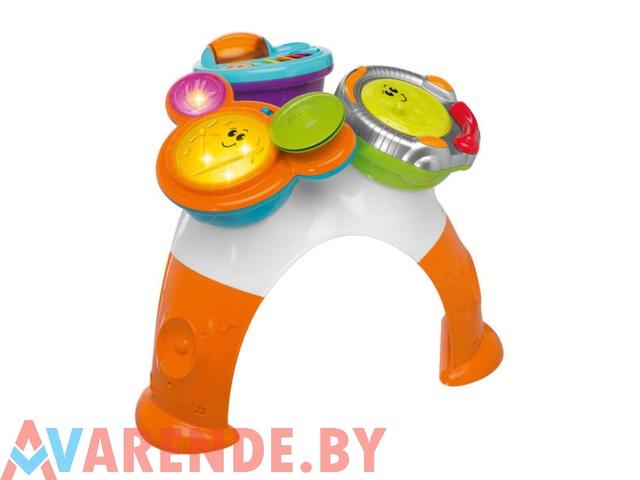 Музыкальный столик Chicco Music Band 3in1 напрокат в Минске - 1/1