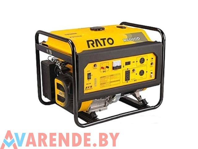 Бензиновый генератор RATO R6000D напрокат в Минске - 1/1