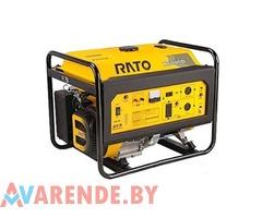 Бензиновый генератор RATO R6000D напрокат в Минске