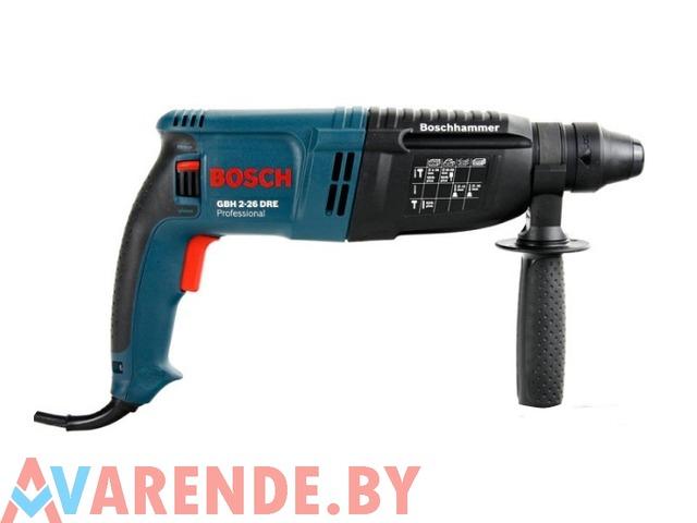Прокат перфоратора Bosch GBH 2-26 DRE Professional в Минске - 1/1