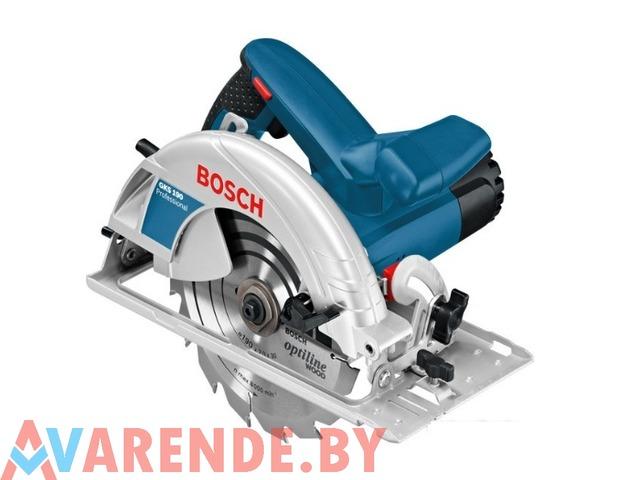 Циркулярная пила Bosch GKS 190 Professional напрокат в Минске - 1/1