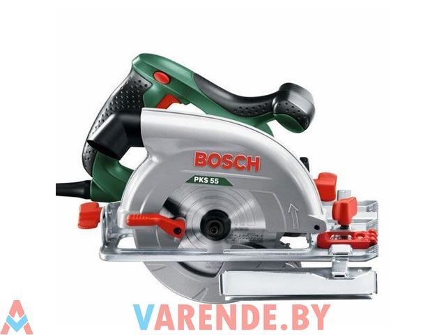 Циркулярная пила Bosch PKS 55 напрокат в Пинске - 1/4