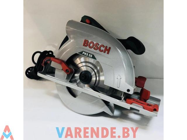 Циркулярная пила Bosch PKS 55 напрокат в Пинске - 3/4