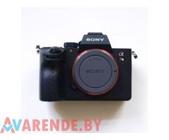 Прокат фотоаппарата Sony a7 III в Минске