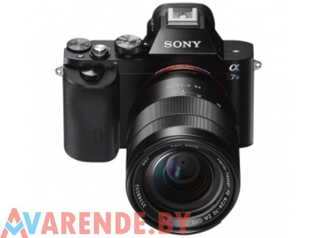 Аренда фотоаппарата Sony A7 S II Минске - 1/1