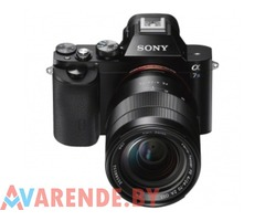 Аренда фотоаппарата Sony A7 S II Минске