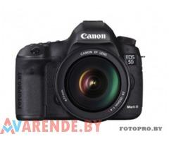 Прокат фотоаппарата Canon EOS 5D Mark III в Минске