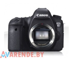 Прокат фотоаппарата Canon EOS 6D в Минске