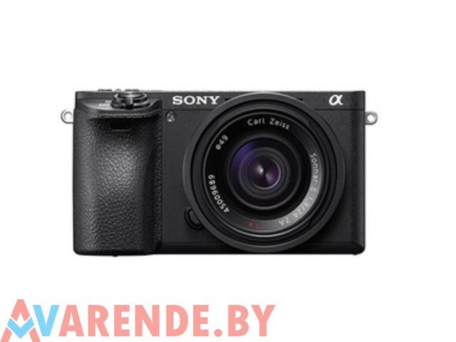 Прокат фотоаппарата Sony Alpha a6500 body в Минске - 1/1