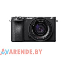 Прокат фотоаппарата Sony Alpha a6500 body в Минске