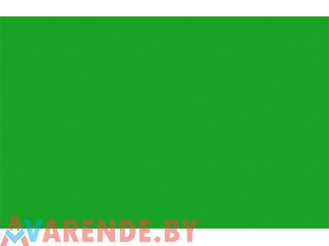Хромакей полотно 3x5 метра GRIFON B-109 зеленый напрокат в Минске - 1/1
