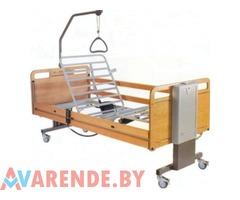 Аренда кровати медицинской 4-x секционной с электро приводом в Минске